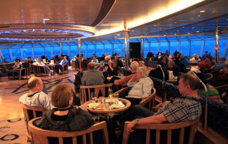 An Bord der MS Fram © Hurtigruten