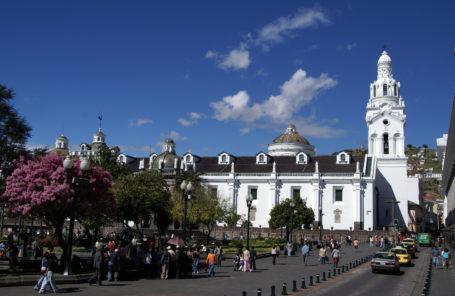 Kirche San Francisco, Quito