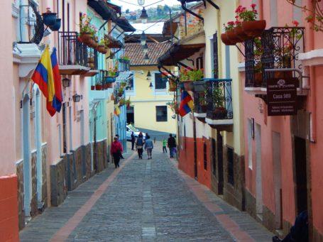 Strasse 'La Ronda' in Quito
