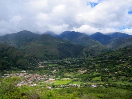 Blick über Vilcabamba