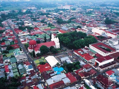 Blick auf San José