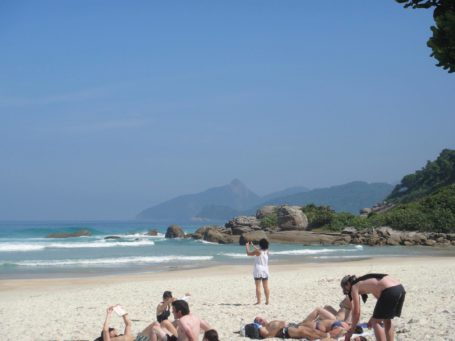 Der Stand Lopes Mendes auf Ilha Grande