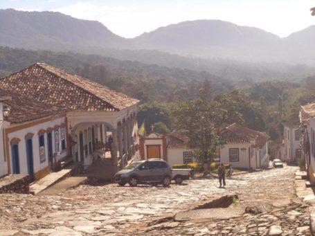 Kopfsteinpflaster und steile Strassen