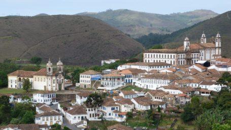 Blick über Ouro Preto