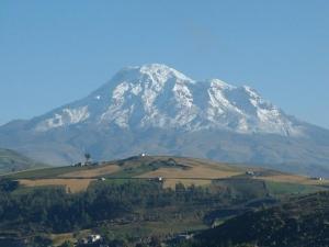 der mächtige Chimborazo