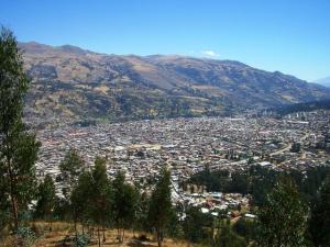 Blick über Huaraz