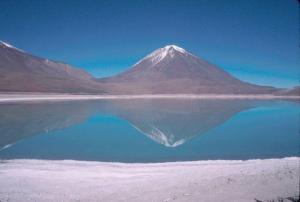 Die Laguna Verde in Bolivien