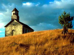 Kirche auf Chiloé