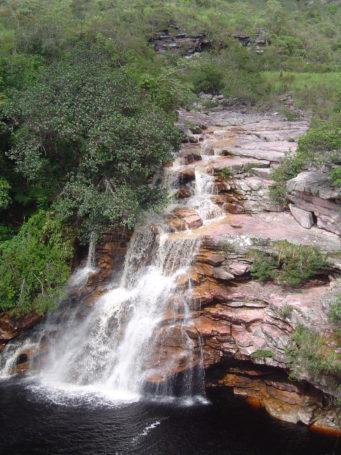 Wasserfall Poço do Diabo