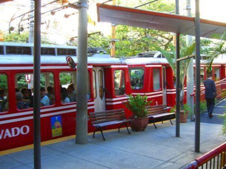 Bahn auf den Corcovado