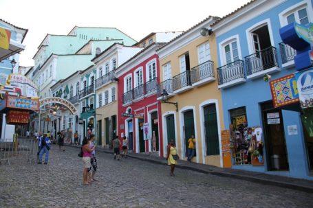 Pelourinho - das historische Zentrum in Salvador