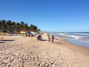 Strand in Salvador
