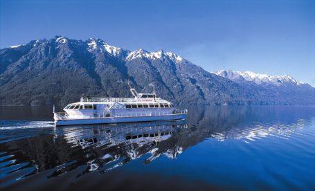 Fahrt über den Nahel Huapi See