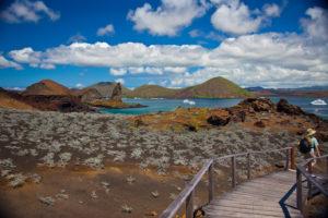 Bartolome mit Pinnacle Rock auf Galapagos