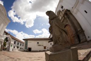 Carmen Alto Kirche in Quito