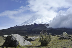Spektakuläre Landschaft im Nationalpark Cotopaxi