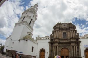 Die Sagrario Kirche in Quito