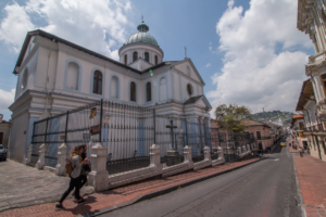 Die Santa Barbara Kirche in Quito