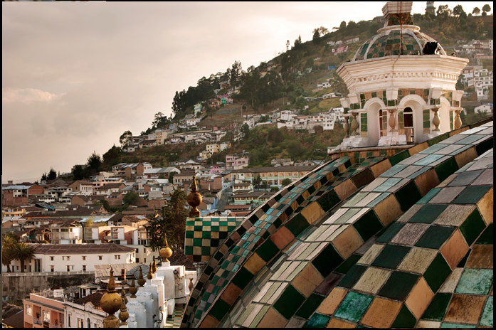Die erste Kathedrale von Quito