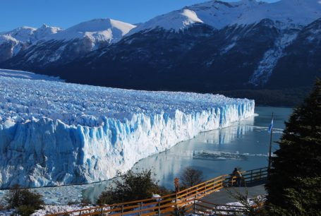 El Calafate - Blick auf den Perito Moreno Gletscher