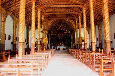 Franziskanerkirche in Yaguarón