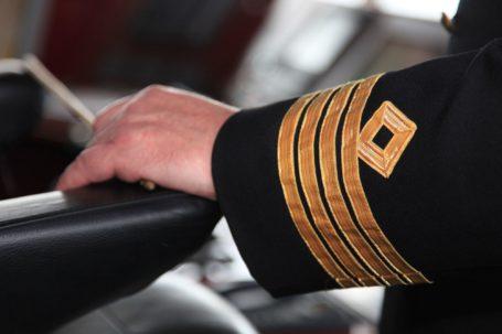 Kapitän der MS Fram © Hurtigruten