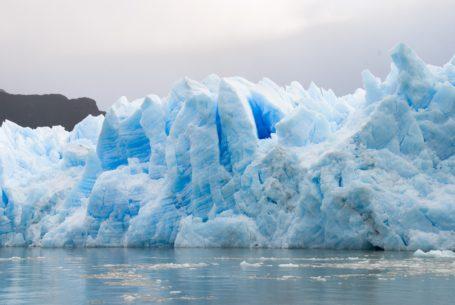 Gletscher Pio XI - einer der letzten die noch wachsen