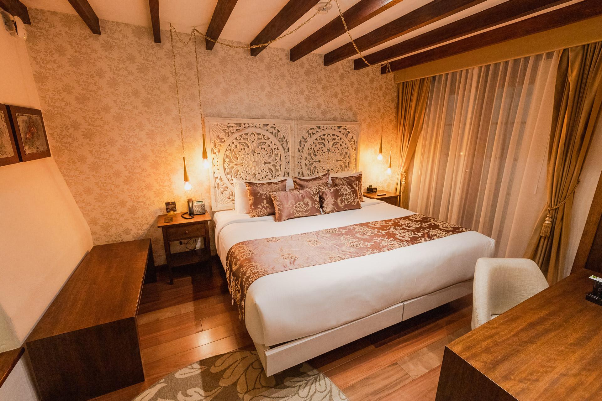 Hotel Mama Cuchara Quito - sehr gemütliche Zimmer