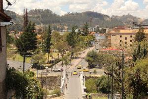 Cuenca und die Anden
