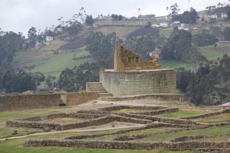 Sonnentempel der Inkaruine Ingapirca