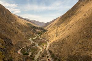 Fahrt zur Teufelsnase – Blick über den Rio Chanchán