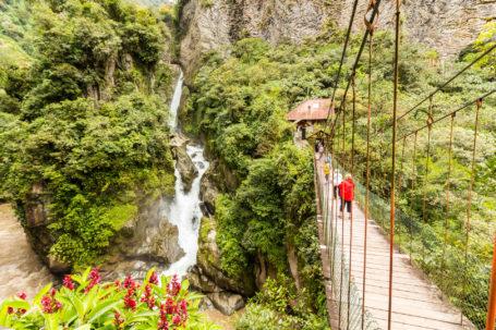 Pailon del Diablo - der vielleicht berühmteste Wasserfall von Ecuador