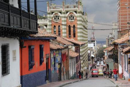 La Candelaria, die Altstadt von Bogotá