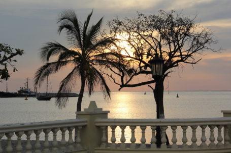Sonnenuntergang in Santa Marta