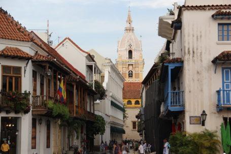Im Zentrum von Cartagena