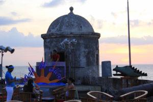 Abendstimmung im Cafe del Mar in Cartagena