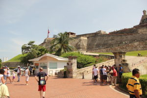 Fort San Felipe de Barajas in Cartagena