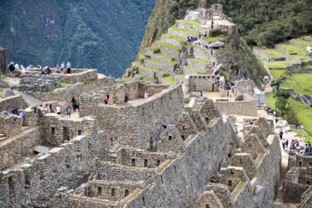 Ruinen innerhalb Machu Picchus