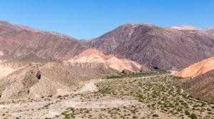 Blick über die Schlucht Blick über die Quebrada de Humahuaca