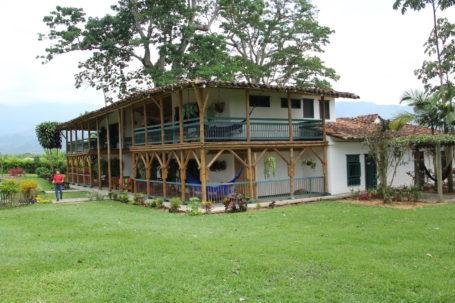 Die traumhaft gelegene Hacienda Bambusa
