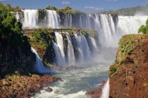 Wasserfälle von Iguazu - Nationalpark der argentinischen Seite