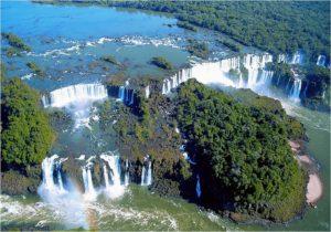 Wasserfälle von Iguazu - Panorama