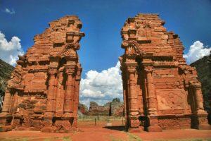 Die Ruinen von San Ignacio