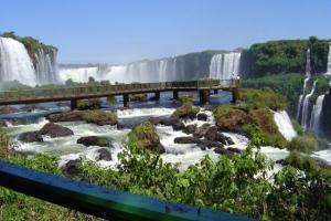 Die Iguacu-Wasserfälle