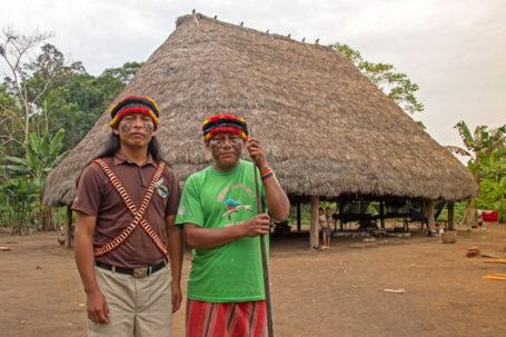 Achuar Gemeinschaft