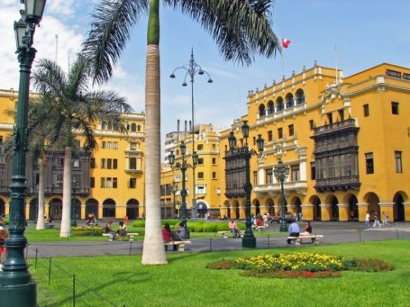 Im Zentrum von Lima