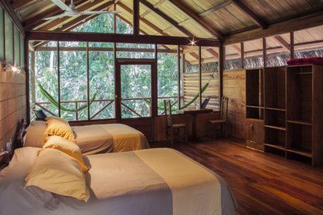 Zimmer in der Sacha Lodge