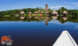 Per Kanu durch die Lagune