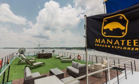 Manatee Amazon Explorer - Aussichtsdeck