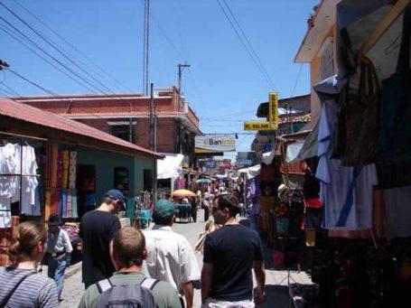 Markt bei Chichicastenango
